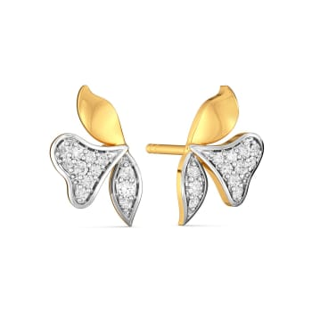 Day Flower Diamond Earrings