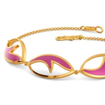 Colour Crest Gold Bracelets