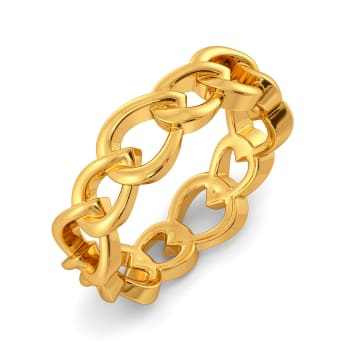 Match the Mesh Gold Rings