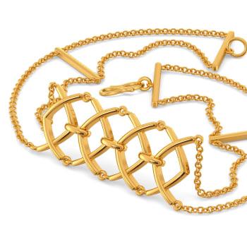 Nets Gone Hip Gold Bracelets