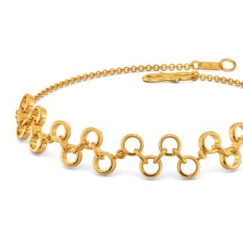 Niche Nets Gold Bracelets