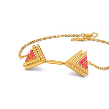 Yours Truly Gold Bracelets