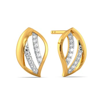 Happy Go Lily Diamond Earrings