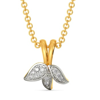 Awesome Blossoms Diamond Pendants
