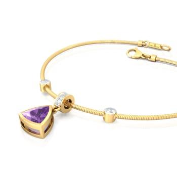 Deep Purple Diamond Bracelets