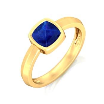 Midnight Blue Gemstone Rings