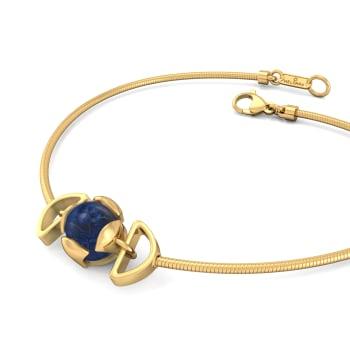 Berry Blue Gemstone Bracelets