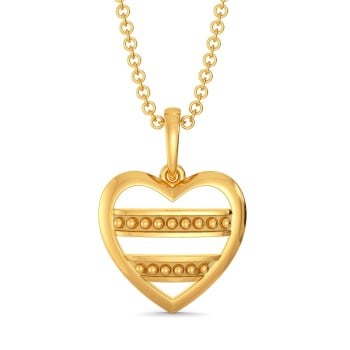 Club Love Gold Pendants