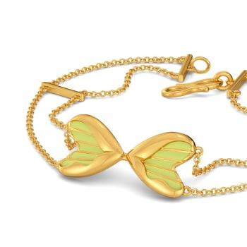 Love Buds Gold Bracelets