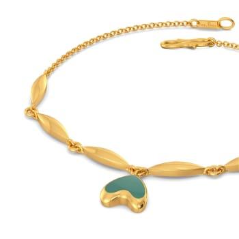 Seal the Teal Gold Bracelets