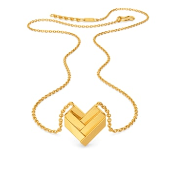 Saint Valentine Gold Necklaces