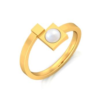 Boxy Beauty Gemstone Rings