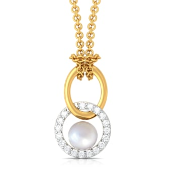 Precious Pairings Diamond Pendants