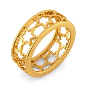 Inter Stellar Gold Rings