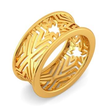 Golden Trio Gold Rings
