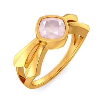 Pastel Pink Gemstone Rings
