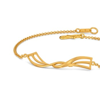 Whimsical Play Gold Bracelets