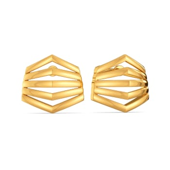 Fashion Fables Gold Earrings