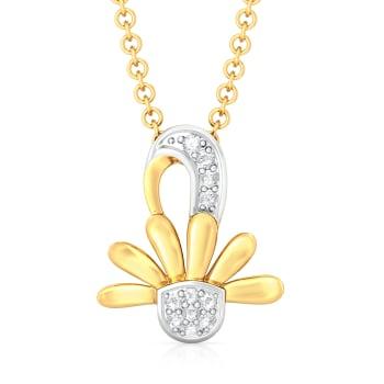 Bold Blooms Diamond Pendants