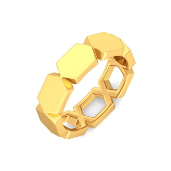 Style Play Gold Rings