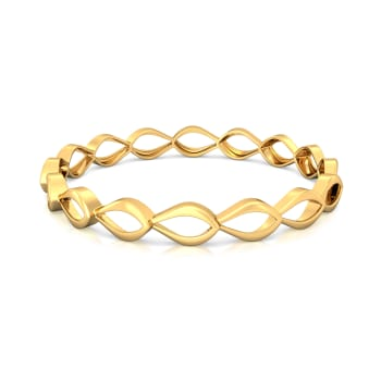 Earthy Matters Gold Bangles