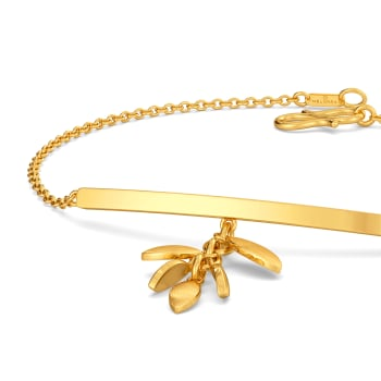 Floral Chimes Gold Bracelets