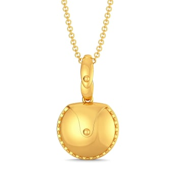 The Safari Saddle Gold Pendants