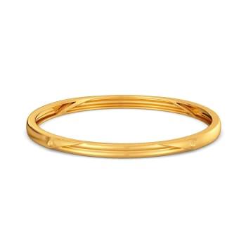Safari Sleek Gold Bangles