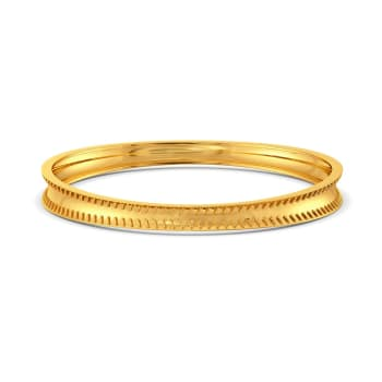 The Bar Lace Gold Bangles