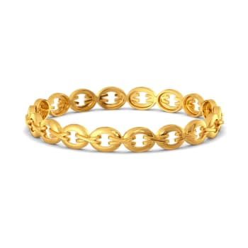 The Wild Stride Gold Bangles