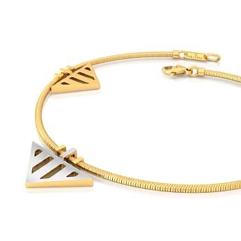 Double Dash Gold Bracelets