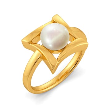 Hug A Pearl Gemstone Rings