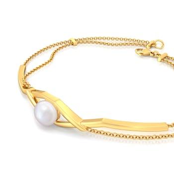 Criss-over-cross Gemstone Bracelets