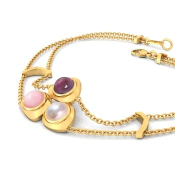 Cherry Blossom Gemstone Bracelets