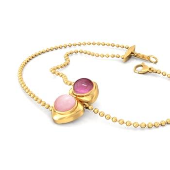 Bold Blush Gemstone Bracelets
