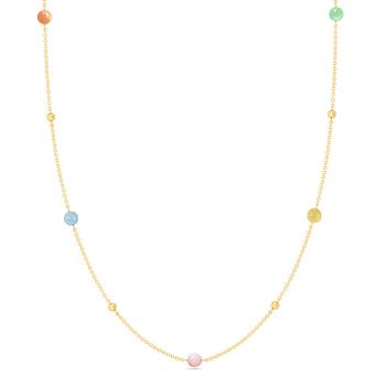 Pastel Sundae Gemstone Necklaces