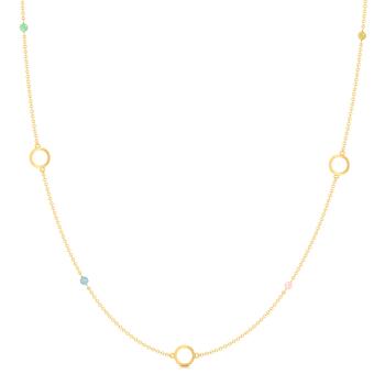 Double Berry Gemstone Necklaces