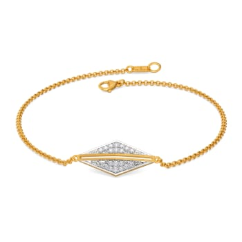 Bold Folder Diamond Bracelets
