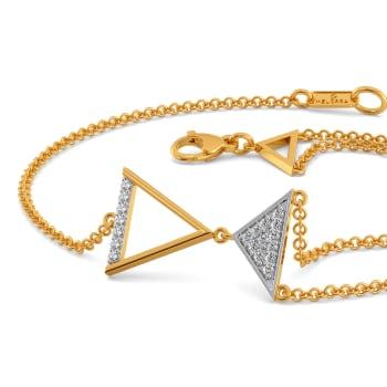 The Power Pose Diamond Bracelets