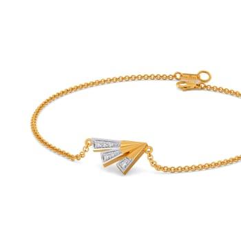 Strong Winged  Diamond Bracelets
