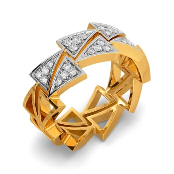 A Sharp Spark Diamond Rings