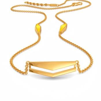 Graduate to Cool Gold Necklaces