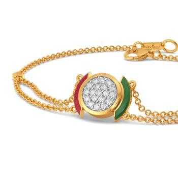 Sporty Formals Diamond Bracelets