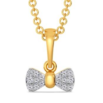 Brace for Bow Diamond Pendants