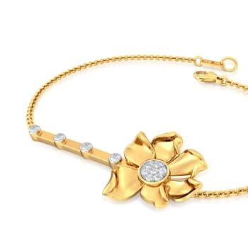 Sparkly Nuttallii Diamond Bracelets