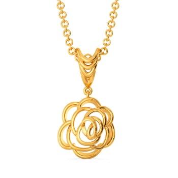 La Reine Rose Gold Pendants