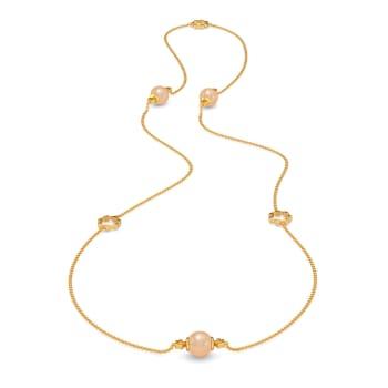 Colour Me Caramel Gemstone Necklaces