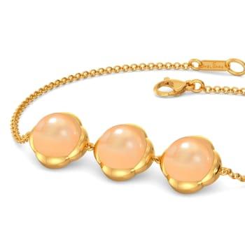 Peach Play Gemstone Bracelets