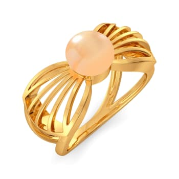 Peach Ready Gemstone Rings