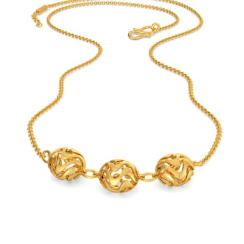 Tripple Tides Gold Necklaces
